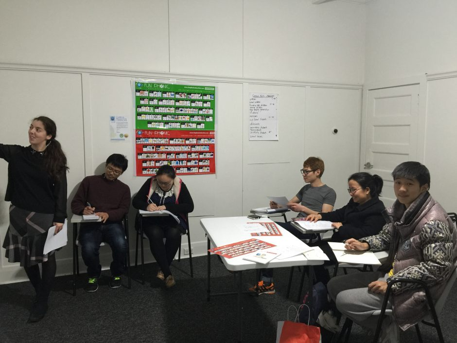 General English class Melbourne